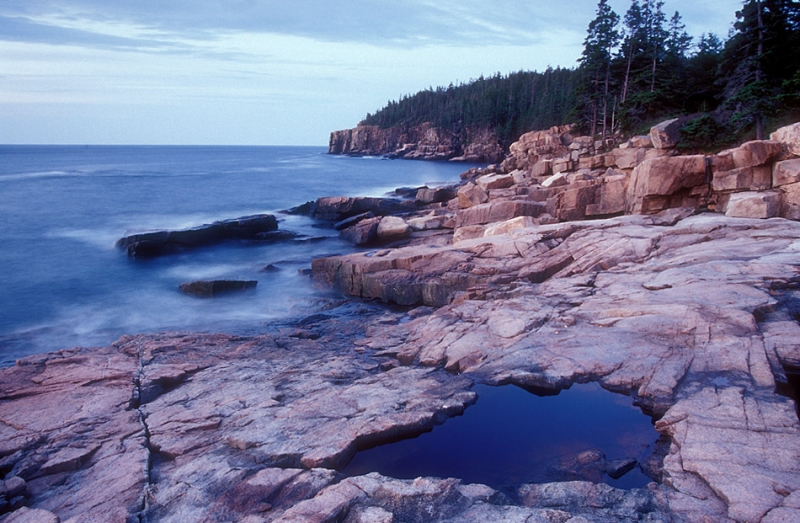 Otter Cliffs And Pool