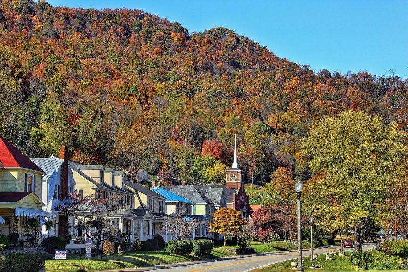 Autumn In A Country Town
