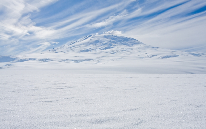 Mt. Erebus, World's Most Southern Active Volcano