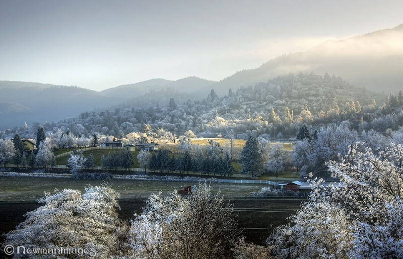 Frosty Ashland Oregon