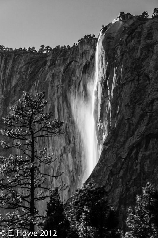 Non-iconic Horsetail Fall