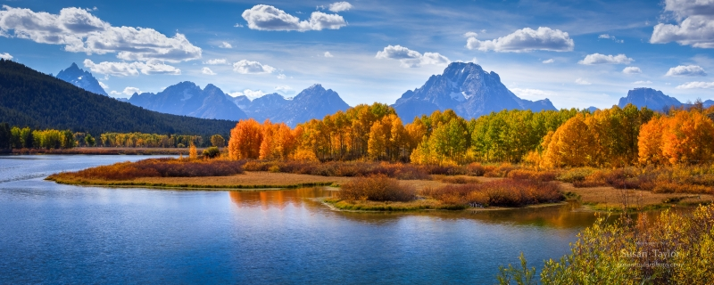 Fall Day At Oxbow Bend
