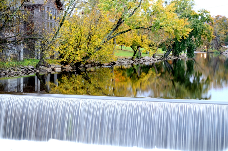 Old Grist Mill Falls