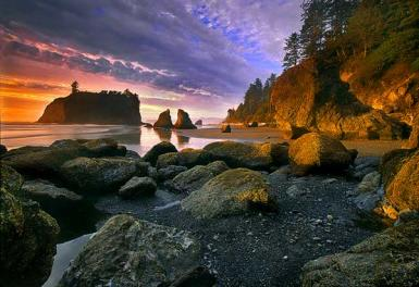 Ruby Beach / Olympic National Park