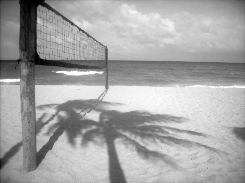 Ft. Lauderdale Beach Blk. And Wht.4