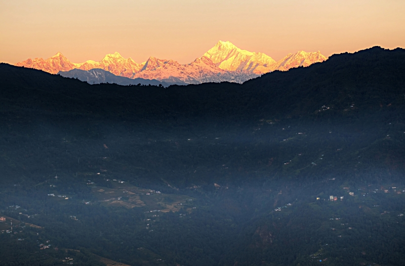 Kangchenjunga At Sunrise