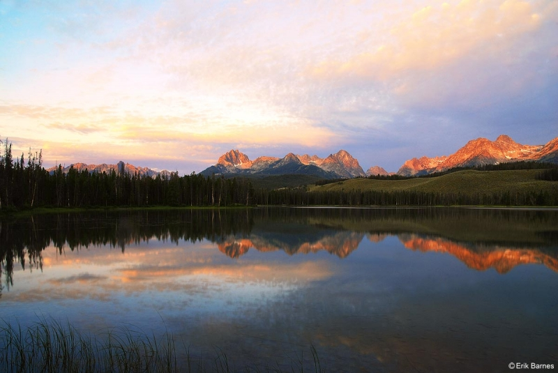 Sunrise Over The Sawtooth Range