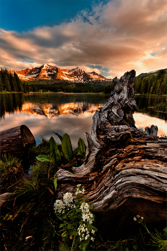 Sunrise, Lake Irwin, Colorado