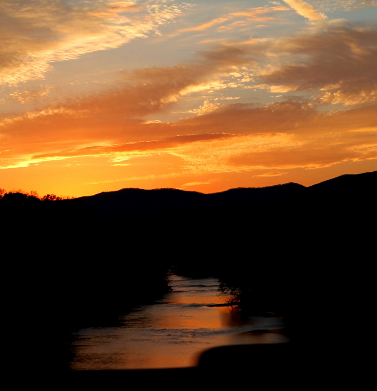 Shenandoah River Sunset