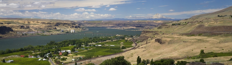 Columbia River Gorge Above Wishram, Wa