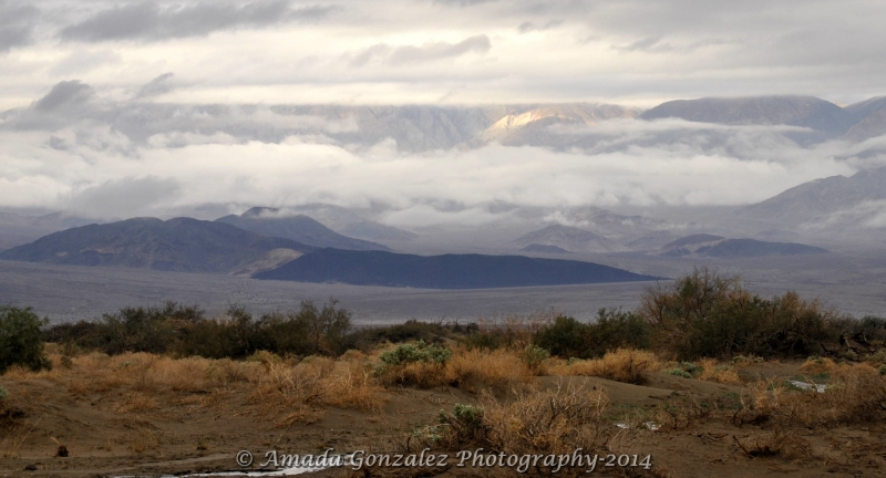 Winter In Death Valley