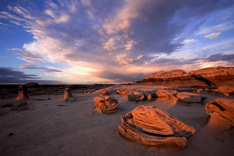 Bisti Badlands Sunset