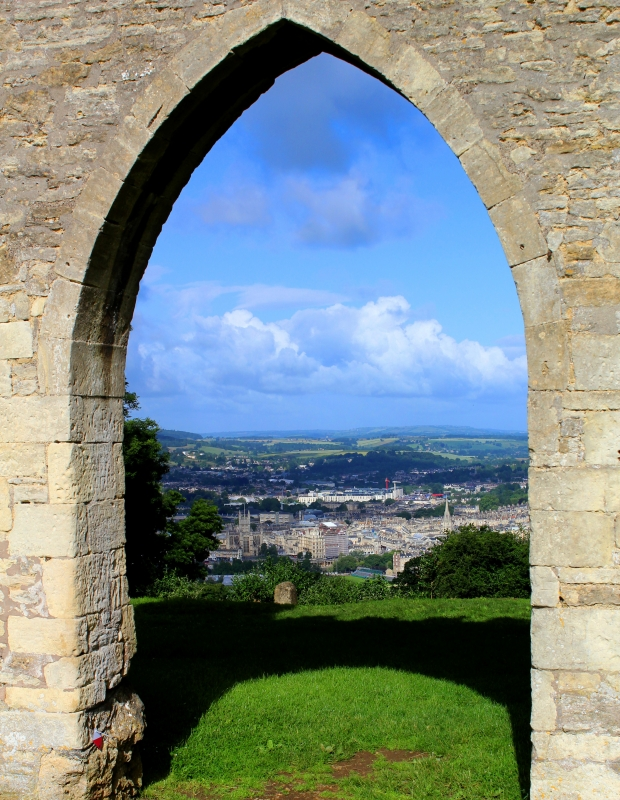 A View Through Sham Castle