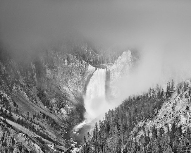 Fog Over Lower Falls