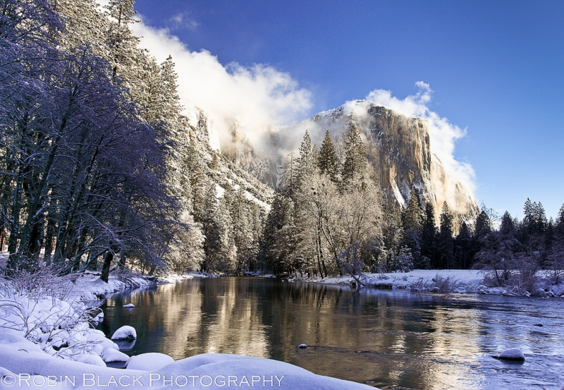 Clearing Winter Storm, El Capitan