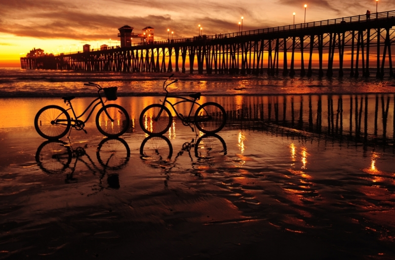 Reflections At The Pier