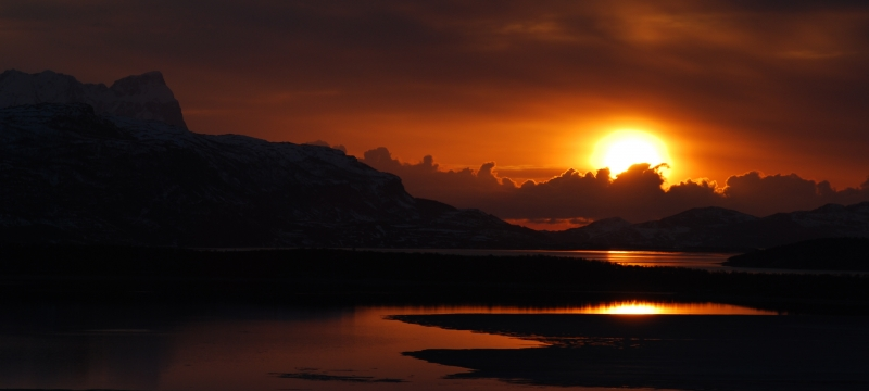 May Sunset In The Arctic  1