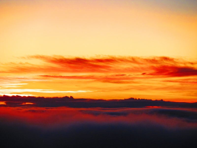 Haleakala Crater Sunrise 1