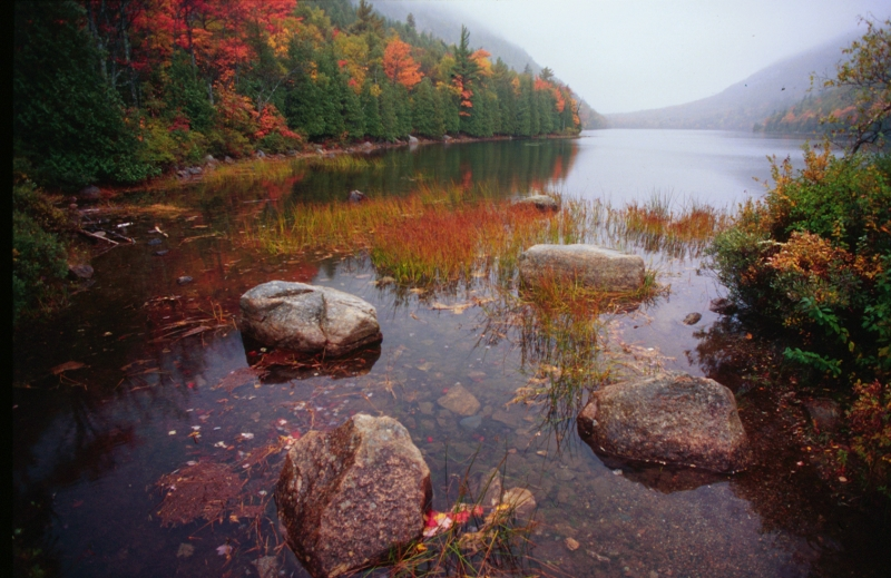Autumn On Bubble Pond