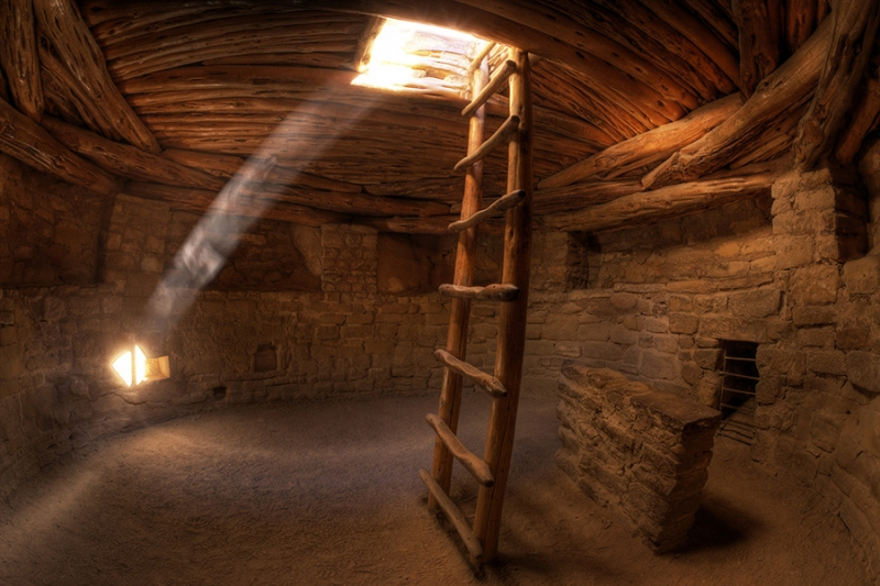 Pueblo Indian Kiva