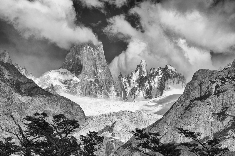 Base Of The Fitroy Massif, Patagonia
