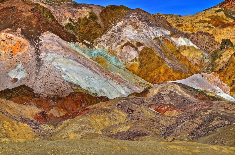Artist Palette In Death Valley