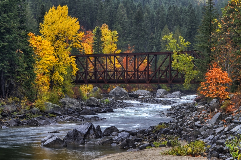 Tumwater Canyon Bridge