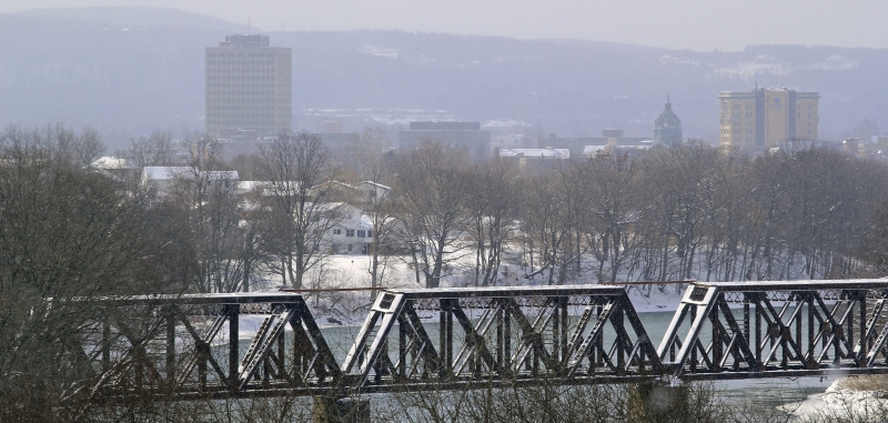 Winter Scene In Binghamton