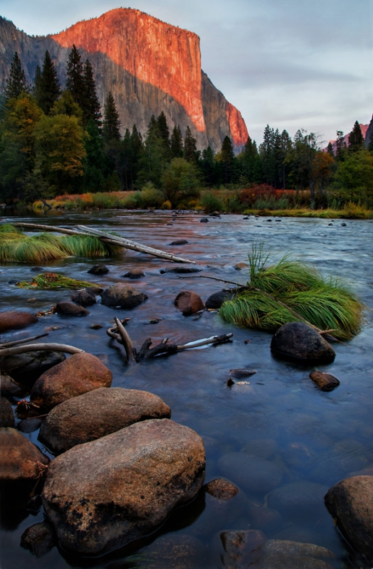 The Sunset And El Capitan