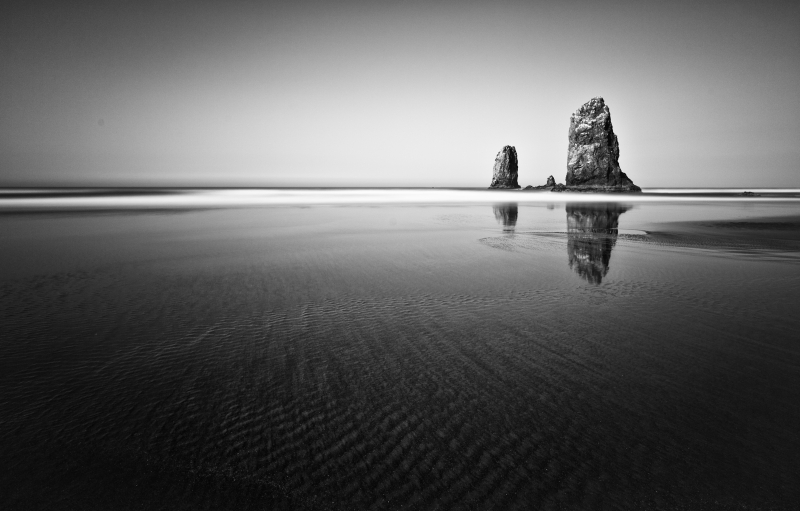 Sea Stacks-cannon Beach Morning