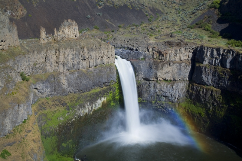 Palouse Falls From Above