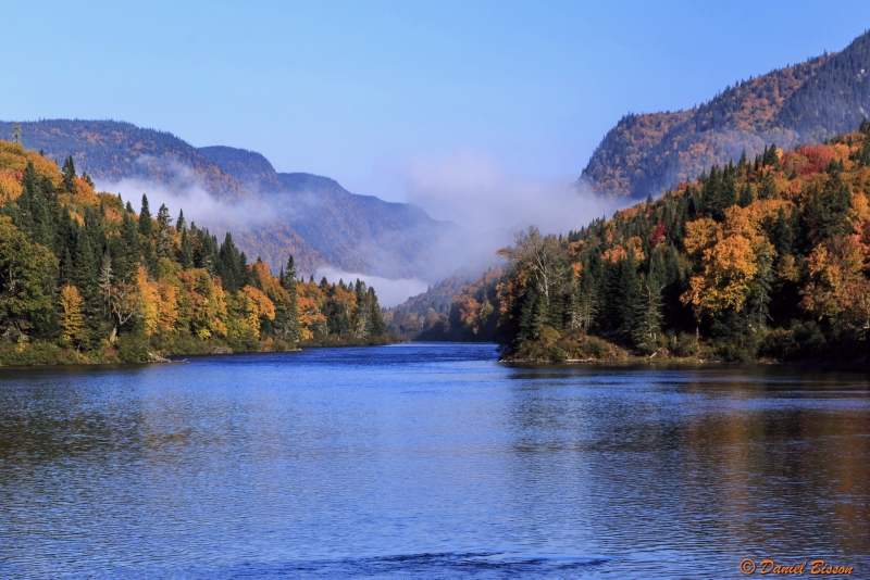 Colors Of Autumn At Jacques Cartier National Park