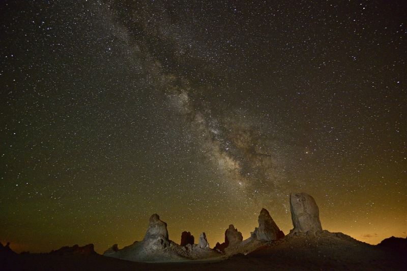 Trona Pinnacles Under The Milky Way