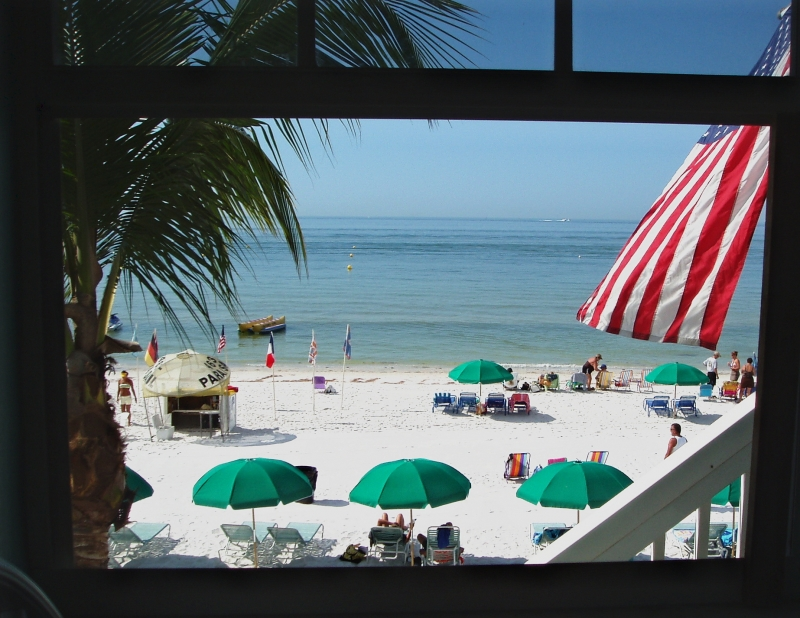 "Fort Myers Beach ""america The Beautiful"""