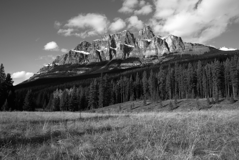 Castle Mountain, Bow Valley