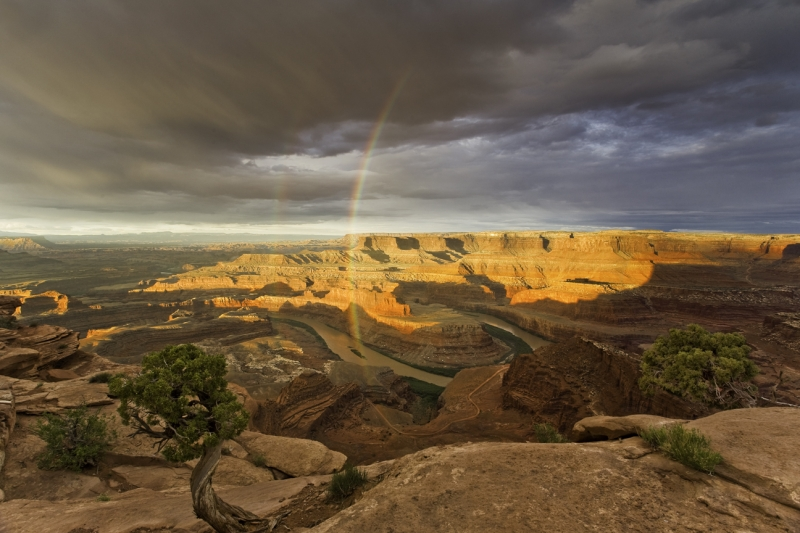 Rainbow Over Dead Horse Point