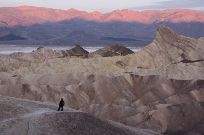 Morning At Zabriskie Point, Death Valley