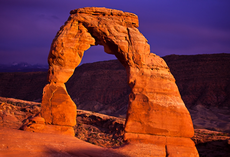 Stormy Sunset At Delicate Arch