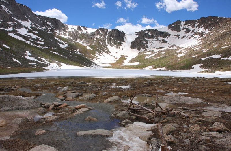 Summit Lake In July
