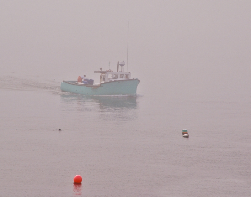 Fishing Boat Return To Bass Harbor