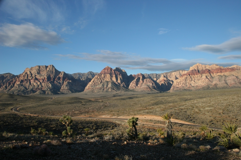 The Drive Throughout Redrock