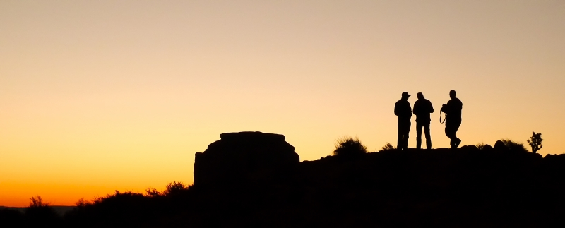 After Sunset In Monument Valley