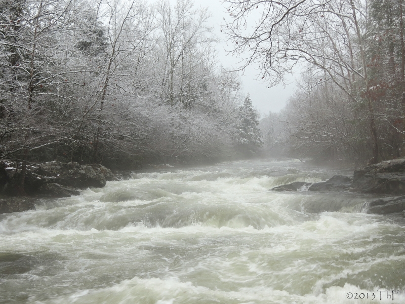 Greenbrier's Rushing Waters