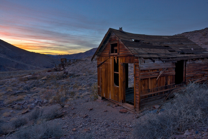 Echo Canyon Death Valley Cabin