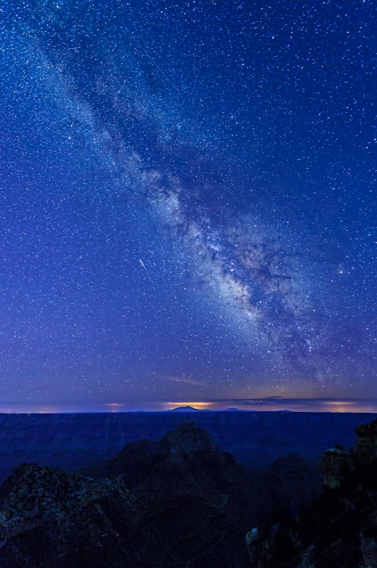 Milky Way Over The Grand Canyon