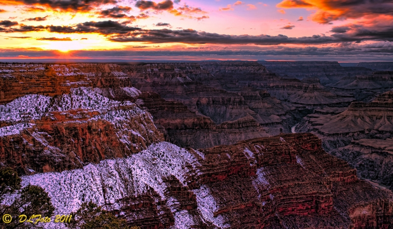 Sunset At Hopi Point