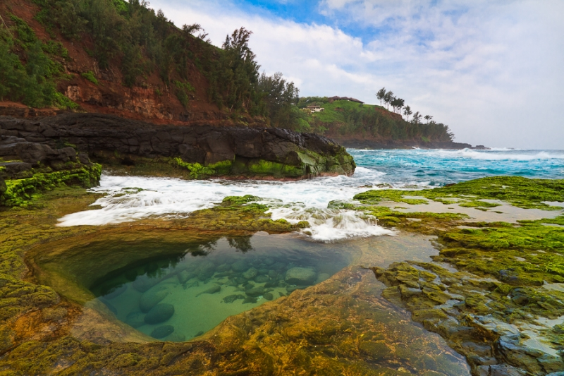 Tidal Pool At Secret Beach