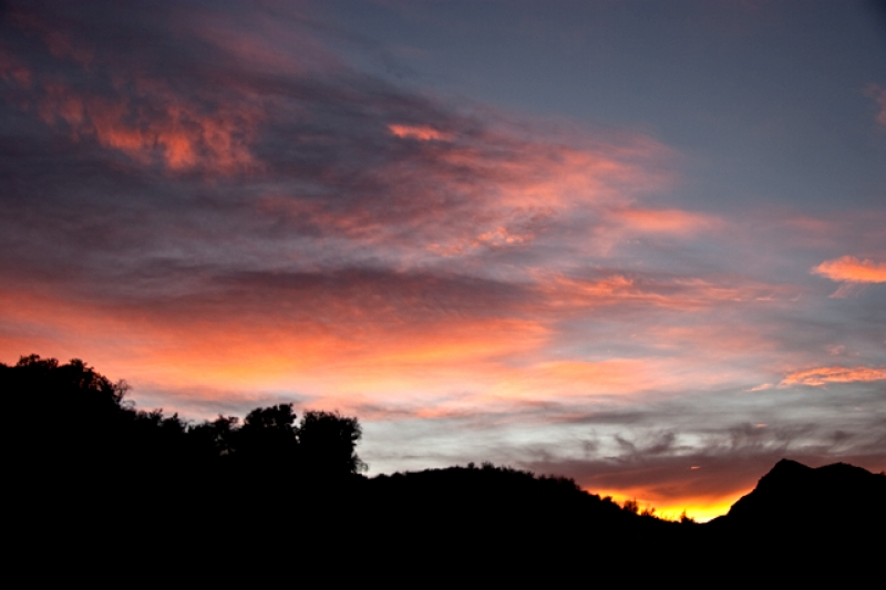 Sunset In Stevenson Ranch
