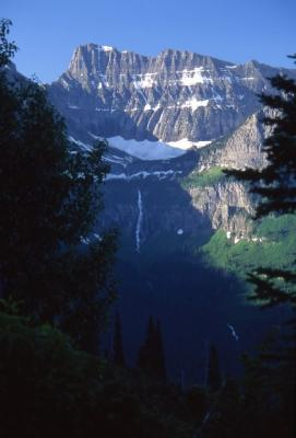 Bird Woman Falls,  Glacier National Park