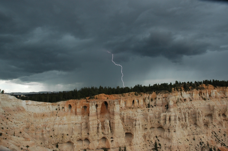 Lightingat Bryce Canyon